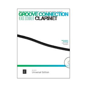 Universal Edition Groove Connection Clarinet
