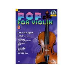 Schott Verlag Pop for Violin 8 mit CD
