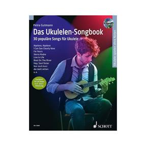 Schott Verlag Das Ukulelen-Songbook mit CD