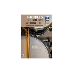 Alfred Publishing Shuffled Drums Workout mit mp3-CD