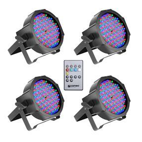 Cameo Flat PAR RGB 10 IR Set