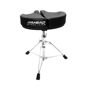 Ahead Black Spinal Glide Drum Throne
