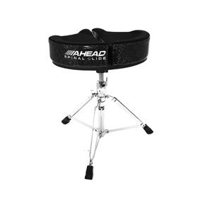 Ahead Black Sparkle Spinal Glide Drum Throne