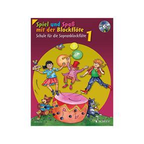 Schott Verlag Schule für die Sopranblockflöte 1 mit CD
