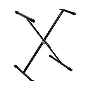 Justin KSX-501 Scherenstativ einstrebig, schwarz