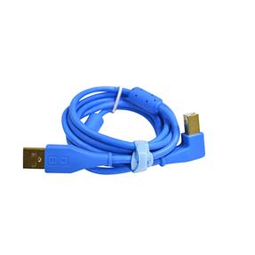 Dj Techtools Chroma Cable angled blue