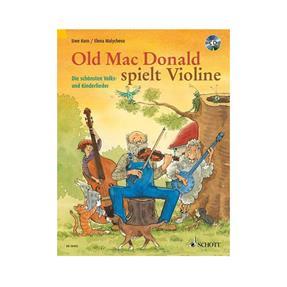 Schott Verlag Old Mac Donald spielt Violine mit CD