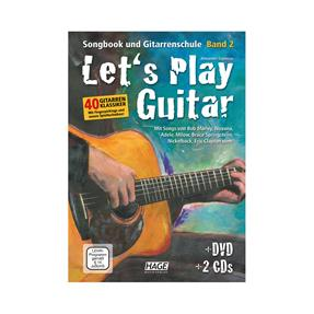 Hage Musikverlag Lets Play Guitar Band 2
