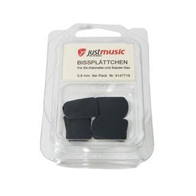 Kölbl Bißplättchen klein schwarz 0,8 mm