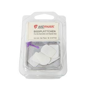 Kölbl Bißplättchen klein transparent 0,4 mm