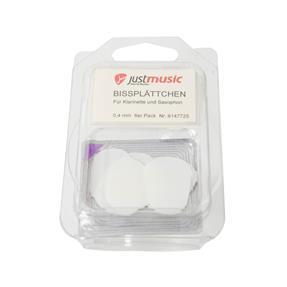 Kölbl Bißplättchen groß transparent 0,4 mm