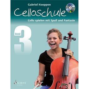 Schott Verlag Celloschule Band 3 mit CD