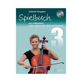 Schott Verlag Celloschule Band 3 mit CD - Spielbuch