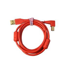 Dj Techtools Chroma Cable angled red