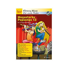 Schott Verlag Megastarke Popsongs Band 13 mit CD