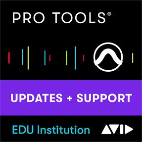 Avid Pro Tools EDU Institut Update-/Support-Plan