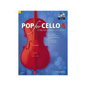 Schott Verlag Pop For Cello Band 4 mit CD