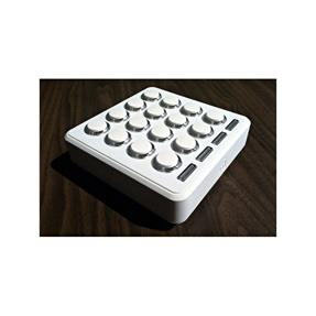 Dj Techtools Midi Fighter 3D White