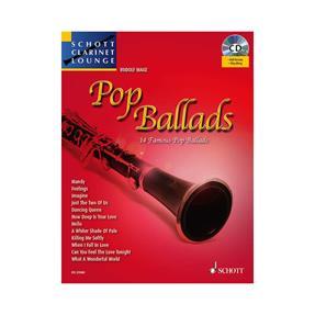 Schott Verlag Pop Ballads für Klarinette mit CD