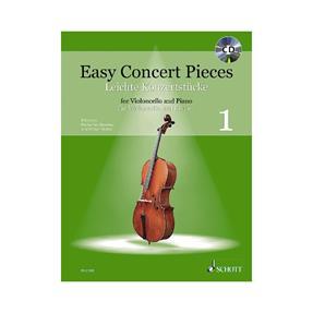 Schott Verlag Easy Concert Pieces 1 mit CD