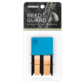 D'addario Woodwinds Reedguard blau für 4 Blätter