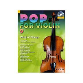 Schott Verlag Pop for Violin 9 mit CD