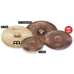 Meinl Mike Johnston Byzance Cymbal Set