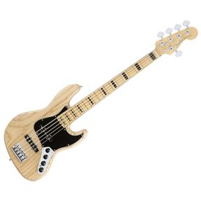 Fender Jazz Bass V American Elite Ash, Natural