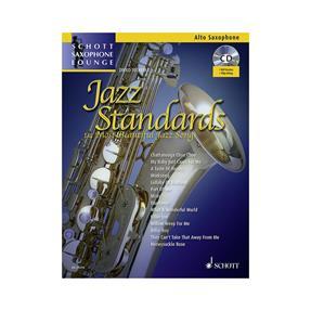 Schott Verlag Jazz Standards für Altsaxophon mit CD