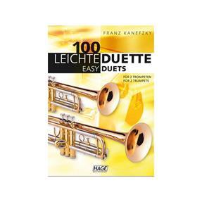 Hage Musikverlag 100 leichte Duette für 2 Trompeten