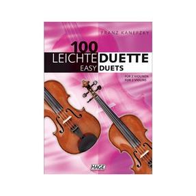 Hage Musikverlag 100 leichte Duette für 2 Violinen