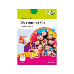 Schott Verlag Die singende Kita mit 2 CDs