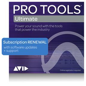 Avid Pro Tools Ultimate Software Update-/Support-Plan