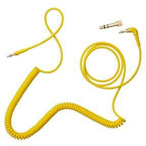 AIAIAI C09 Spiralkabel mit Adapter gelb