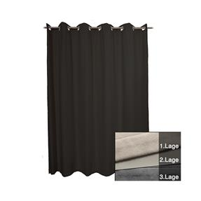 HOFA Akustikvorhang ISO schwarz