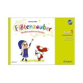 Schott Verlag Flötenzauber Band 1 mit CD