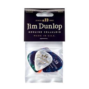 Dunlop Celluloid Pick Variety Pack, medium