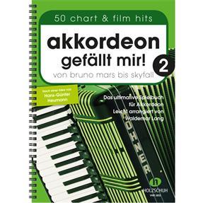 Holzschuh Verlag Akkordeon gefällt mir! Band 2