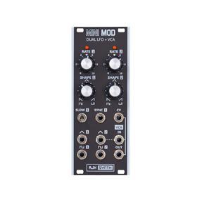 AJH Synth MiniMod Dual LFO + VCA schwarz B-Ware