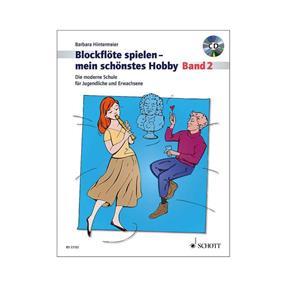 Schott Verlag Blockflöte spielen mein schönstes Hobby