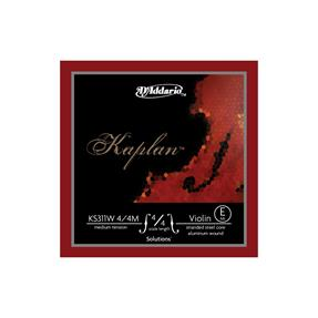 D'addario Violine Kaplan Solution E medium