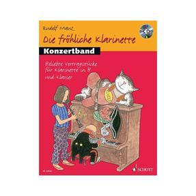 Schott Verlag Die fröhliche Klarinette - Konzertband