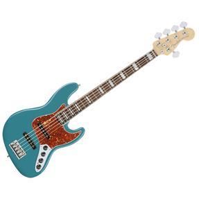 Fender Jazz Bass V American Elite, Ocean Turquoise