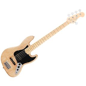 Fender Jazz Bass V American Elite, Natural