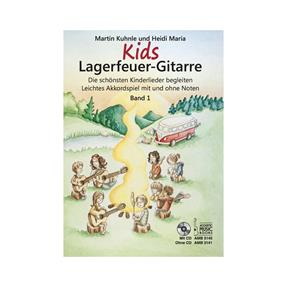 Acoustic Music Books KIDS Lagerfeuer Gitarre mit CD Band 1