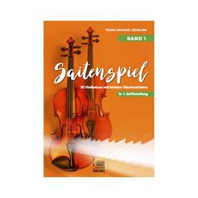Acoustic Music Books Saitenspiel Band 1 in 1. Griffstellung