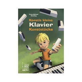 Acoustic Music Books Konstis kleine Klavier-Kunststücke
