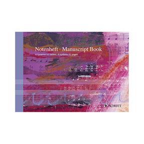 Schott Verlag Notenheft 6 Systeme