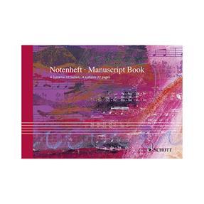 Schott Verlag Notenheft 4 Systeme