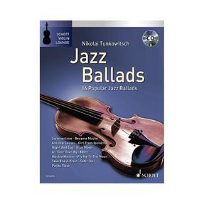 Schott Verlag Jazz Ballads für Violine mit CD